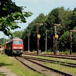 """232 254 und 232 255 Lz im """"Gbf"""" Cunnersdorf"""