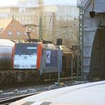 186 182 von SBB Cargo mit Gz im Dresdner Hauptbahnhof