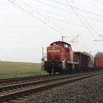 Gleich hinterher kam 294 825 mit 55065 aus Freiberg nach Dresden