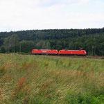 152 Doppel bei Colmnitz in Richtung Dresden