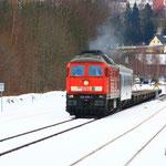 232 635 kurz vor der Abfahrt aus Marienberg