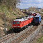 232 254 und weitere 232 255 mit Gz in Richtung Plauen