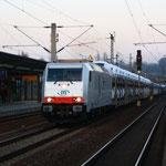 Die neue 285 111 in Pirna