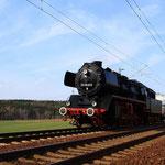 50 3610 mit DbZ92029 am BÜ Colmnitz