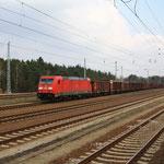 185 393 in Richtung Senftenberg