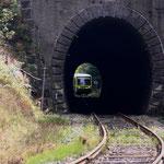 845 001 kurz vor dem Tunnel durch den Erzgebirgskamm