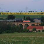 Sdz von Prag nach Glauchau auf dem Colmnitzer Viadukt