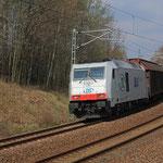 285 108 mit Papierzug kurz vor Niederbobritzsch