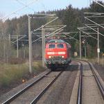 218 430 mitLeerzug von Dresden nach Chemnitz
