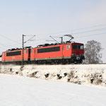 """155 035 mit letztem """"halb zwölfer Gz"""" (47335) am Esig DKC"""