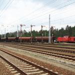 298 326 bei der Einfahrt in Hosena aus Richtung Senftenberg