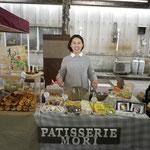 パティスリーモリ(洋菓子)の出店ブース