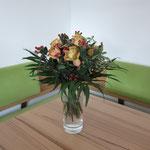17.7.2013: Aus Augsburg bzw. Partenkirchen kommt eine Blumenüberraschung!