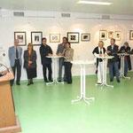 Begrüßung Dr. Harald Geck Gruppenbild von Gästen