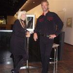 Künstler Inge Kreuzer und Künstler Mario De Zuani