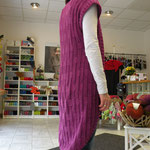 "sommerliche Longweste aus 10 Kn ""Sol"" von Lang Yarns, Fr. A. Goverts"