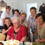 Juni 2012 - Geburtstag von Stammkundin Fr. I. Brunner