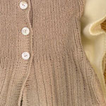 "Kurzarmjacke aus 8 Kn. ""Lovely Jeans"" von Filatura di Crosa, Fr. U. Schilcher"