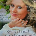 Bianca auf der Titelseite der Zeitschrift Lydia
