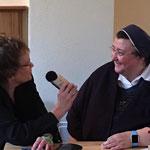 Sabine Langenbach im Interview mit Schwester Teresa Zukic