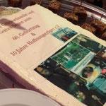 Die Jubiläumstorte von Bäckermeister Christian Singer, Rothenkirchen