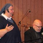 Klasse Sängerin: Sr. Teresa