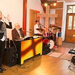 gemeinsames Singen mit Bianca, Waldemar und David.