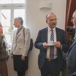 Pausengespräche; Hedi Müller, Angela Scharnowski, Johannes Wendel u. Ernst-Günter Weßler