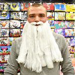 Борода Санта Клауса , 40 см. Стоимость 165 руб.