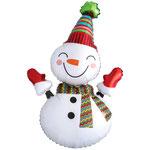 """Фольгированная фигура Anagram Снеговик улыбчивый, размер 35"""" #31454. Цена 230 руб."""