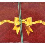 1-04-0044 Конверты Золотой бантик, 10 шт. #61244
