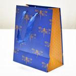 арт. 0598.419 Пакет для подарков Премиум Стрекозы 23*18*10 см. Оптовая цена 60 руб.