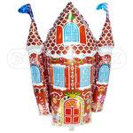 """Фольгированная фигура Flexmetal Пряничный домик, размер 31"""" #901758. Цена 120 руб."""