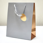 арт. BK1003-D2 Пакет для подарков Серебро 32*26*12 см. Оптовая цена 65 руб.