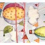 1-20-0377 Конверты Воздушные шары, 10 шт. #61338