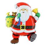 """Фольгированная фигура Grabo Забавный Дед Мороз, размер 30"""" #L30228. Цена 150 руб."""