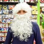 Набор Деда Мороза: борода и парик, арт. 61839. Стоимость 449 руб.