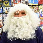 Набор Деда Мороза: усы, борода, парик, арт. 40500. Стоимость 744 руб.