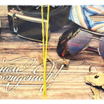 1-30-0180 Конверты с Днём Рождения Мужской стиль, 10 шт. #61411