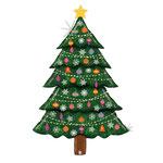 """Фольгированная фигура Betallic Новогодняя ёлка, размер 60"""" #35915. Цена 630 руб."""