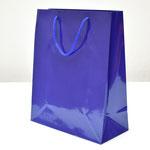 арт. 1540-2L Пакет для подарков Однотонный синий 26*32*12 см. Оптовая цена 35 руб.