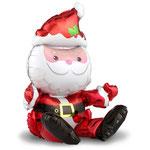 """Фольгированная фигура Falali Сидячий Дед Мороз, надувается только воздухом, размер 20"""" #15164. Цена 70 руб."""