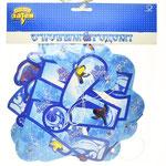 Гирлянда-буквы С Новым Годом Дед Мороз и Снегурочка, 220 см. Стоимость 145 руб.