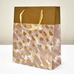 арт. BK998-D2 Пакет для подарков Золотые штрихи серый 32*26*12 см. Оптовая цена 65 руб.