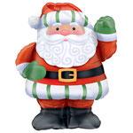 """Фольгированная фигура Anagram Санта, размер 35"""" #07440. Цена 230 руб."""
