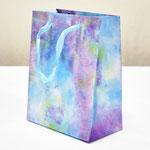 арт. BK999-D1 Пакет для подарков Облачные грёзы бирюзовый 23*18*10 см. Оптовая цена 45 руб.