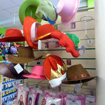 Карнавальные головные уборы: фуражки, шляпы, колпаки