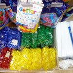 Палочки и чашечные зажимы для воздушных шаров