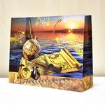 арт. 1350-1XXL Пакет для подарков Мужской подарок Путешествие 50*40*16 см. Оптовая цена 110 руб.