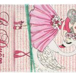 1-30-0176 Конверты с Днём Рождения Лебедь, 10 шт. #61410